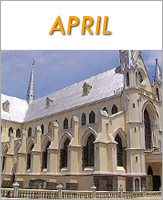 April - Click to see events