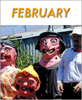 February - Click to see events