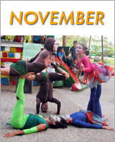 November - Click to see events